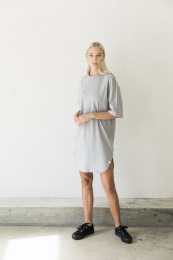 Wren Dress Organic - Grey mint