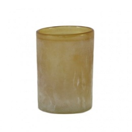 Frost Candleholder L - Amber