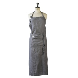 Apron Linen 100x110 - Dark Grey