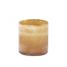 Frost Candleholder M - Amber