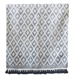 Tassel Cotton Rug - 80x200