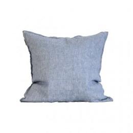 Cushion cover linen 50x50 - Woven light blue