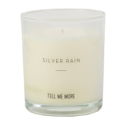 Scented Candle Clean - Silver Rain