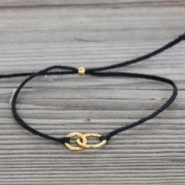 "Armband ""Connected"" - svart"