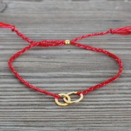 Connected - Gold/Red