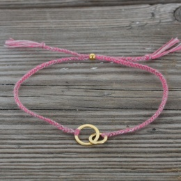 Connected - Gold/Pink