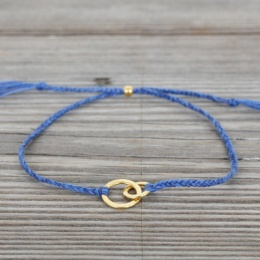 Connected - Gold/Blue