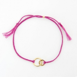 "Armband ""Connected"" - rosa"