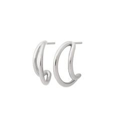 Callisto Earrings - Steel