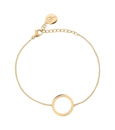 Circle Bracelet Small - Gold