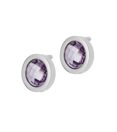 Colour Studs - Violet Steel