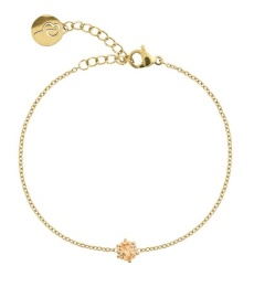 Crown Bracelet - Gold Champagne