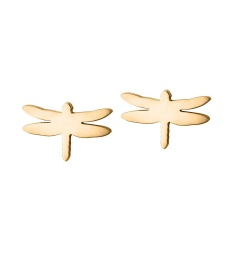 Dragonfly Studs - Gold
