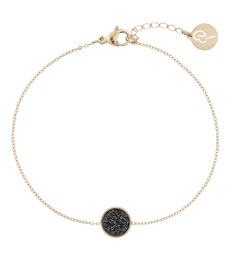 Estelle Bracelet - Black Gold