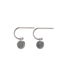 Estelle Earrings - Silvery Steel