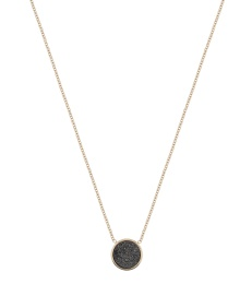 Estelle Necklace - Black Gold