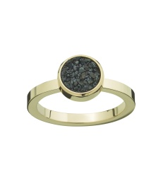 Estelle Ring - Black Gold