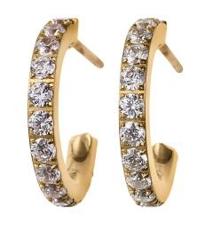 Glow Earrings Mini - Gold