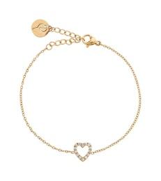 Glow Heart Bracelet - Gold