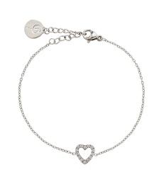 Glow Heart Bracelet - Steel
