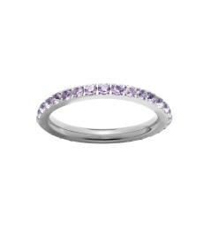 Glow Ring - Violet Steel