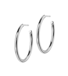 Hoops Earrings - Steel Medium