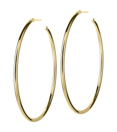 Hoops Earrings - Gold Large