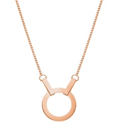 Kali Necklace Short - Rose Gold