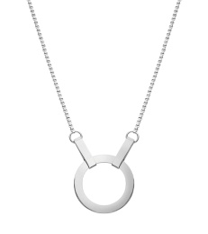 Kali Necklace Short - Steel