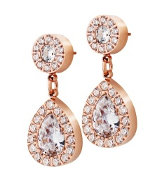 Kate Earrings - Rose Gold