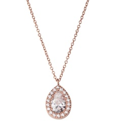Kate Necklace - Rose Gold