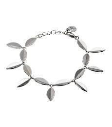 Leaf Bracelet - Steel