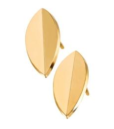 Leaf Studs - Gold