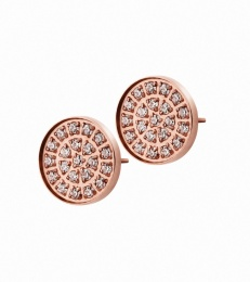 Lottie Studs - Rose Gold