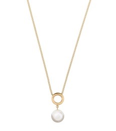 Lovisa Necklace Circle - Gold