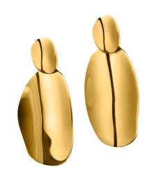 Pebble Earrings - Gold