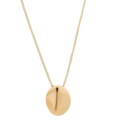 Pebble Mini Necklace - Gold