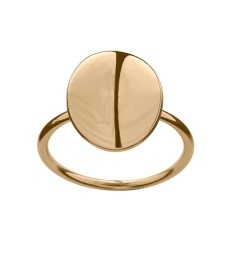Pebble Mini Ring - Gold