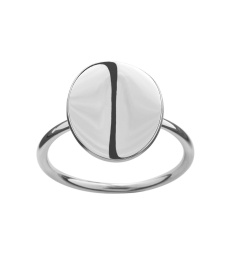 Pebble Mini Ring - Steel