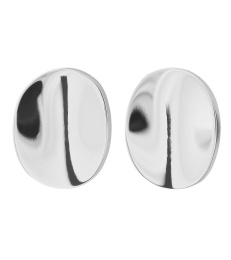 Pebble Mini Studs - Steel