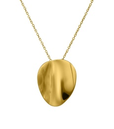 Pebble Necklace Short - Gold