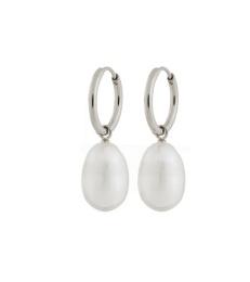 Perla Earrings - Steel