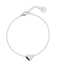 Pure Heart Bracelet - Steel
