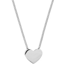 Pure Heart Necklace - Steel