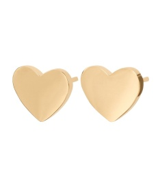 Pure Heart Studs - Gold