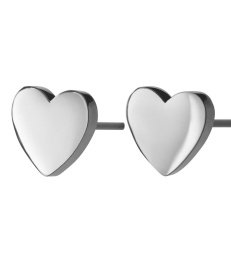 Pure Heart Studs - Steel
