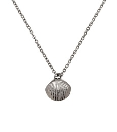 Shell Necklace - Steel
