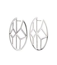 Shirin Earrings - Steel