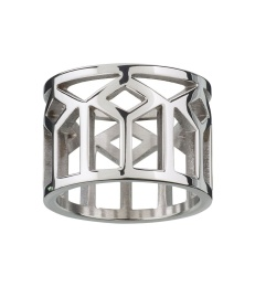 Shirin Ring - Steel