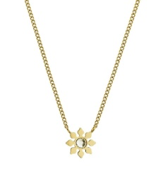Snowflake Necklace - Gold